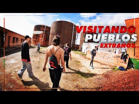 Línea Recta visitando pueblos extraños! (Tomelloso y Alcázar)