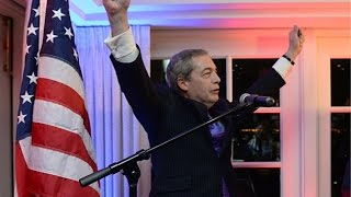 Nigel Farage speech at Donald Trump party