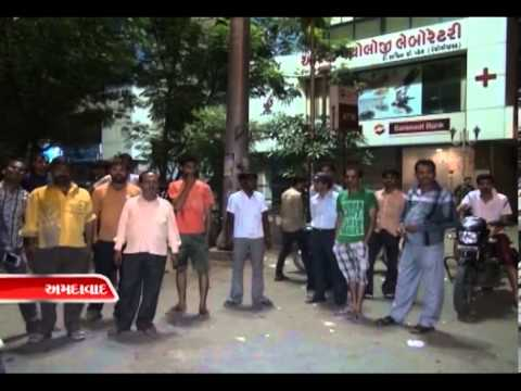 Sandesh News-Police beat up couple at ahmedabad