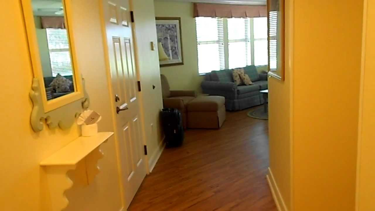 Tour Of Disney 39 S Old Key West One Bedroom Villa Youtube