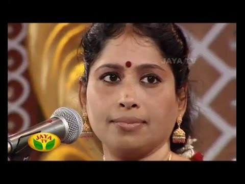 Margazhi Utsavam - Episode 16 Nithyasree Mahadevan On Saturday,26/12/2015