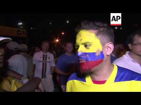 Fans react as 0-0 draw means France tops group but Ecuador goes home