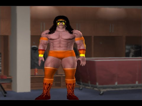 WWE 30 YEARS OF WRESTLEMANIA ULTIMATE WARRIOR CAW FORMULA PS2