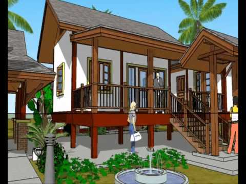 Thaithree thai house design ideas thaithree for Home designs thailand
