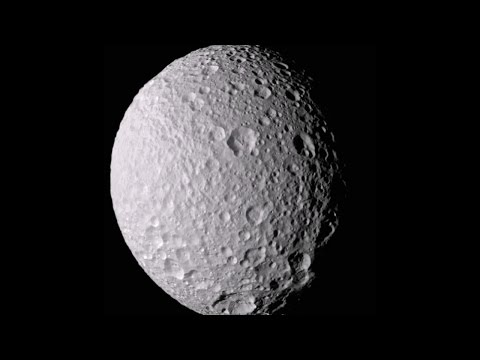 Saturn's Death Star Moon Might Be Full Of Water