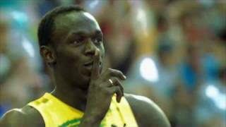 usain bolt 100 and 200m world records berlin