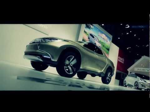 The Mitsubishi Concept Gr Hev All New L200 Triton Brazil