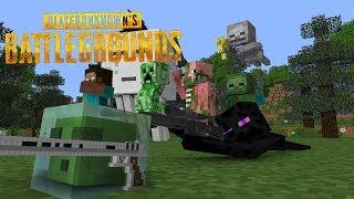 Monster School : PlayerUnknown's Battlegrounds - Minecraft Animations