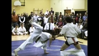Funny Karate Video - Fighter's Pants FALL down during the Fight!