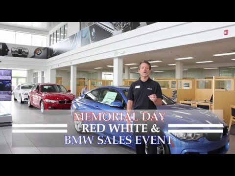 BMW of Orland Park - Memorial Day Red, White and BMW Sales Event