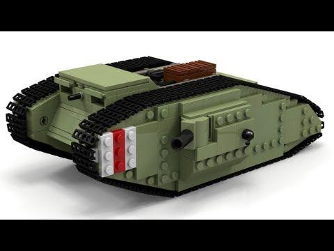 Инструкция как из лего сделать танк из