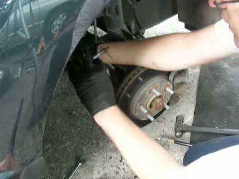 2008 dodge caliber tie rod ends.avi