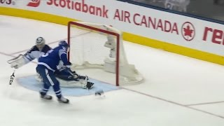 Nazem Kadri 25th Goal of the Season! 2/21/2017 (Winnipeg Jets vs Toronto Maple Leafs)
