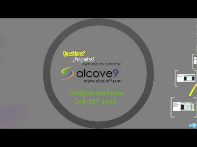 Are the embedded CAD search and viewing capabilities included in the basic Alcove9 solution, a9 Hub?
