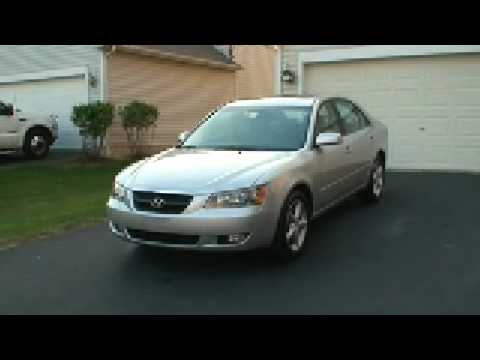 2007 Hyundai Sonata Walkthrough (Part 1)