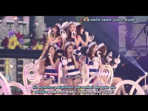 Girls Generation 3° Tour Japan Lingua Franca SUb Español Live