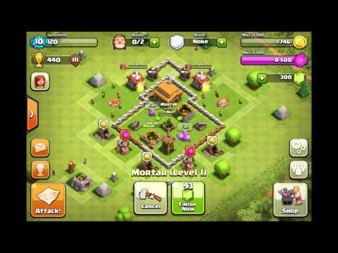 Best Clash of Clans Defense - Town Hall 3 + Epic low level raid