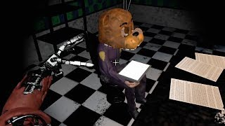 PLAYING AS FOXY RUNNING AFTER THE NIGHTGUARD... | FNAF 2 Playable Animatronics