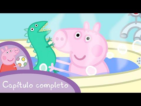 Peppa - ¿Dónde está el señor Dinosaurio? (capítulo completo)