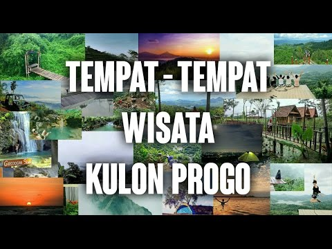 Tempat - tempat Wisata Di kulon Progo,Yogyakarta