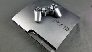 Sony PS3 Slim 320GB_ Unboxing