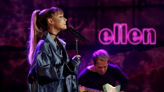 Ariana Grande - Into You/Side To Side (Live on Ellen Show) HD
