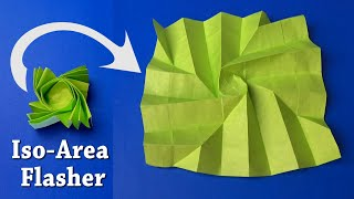 Fold An Origami Flasher By Jeremy Shafer