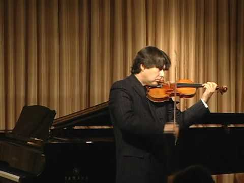 "Stradivari violin, ""The Antonius,"" played by Eric Grossman (full version)"