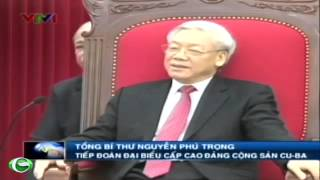 TBT Nguyn Ph Trng tip on i biu cp cao ng Cng Sn Cuba