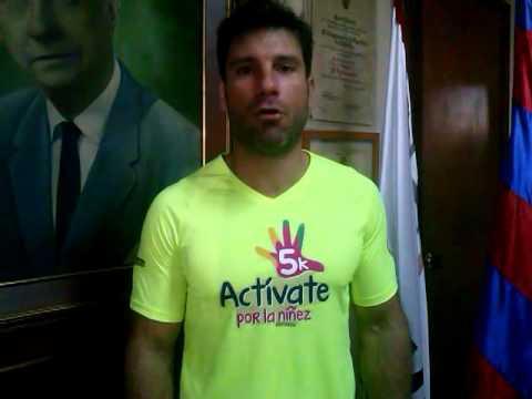 .@carlosdzgrana2 invita a los samarios a unirse a la carrera @activate5K