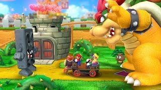 Mario Party 10 - Bowser Party Mode - Mushroom Park (Master Difficulty/Team Bowser)