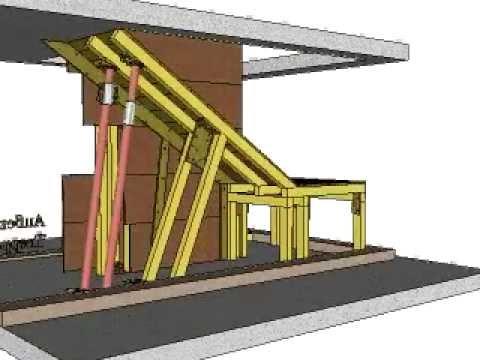 Treppenschalung