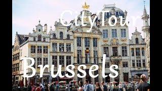 Brüssel City Travel Tour / Brüssel Şəhərlərin Kicik Tur Gəzintisi - Belçika / Belgium