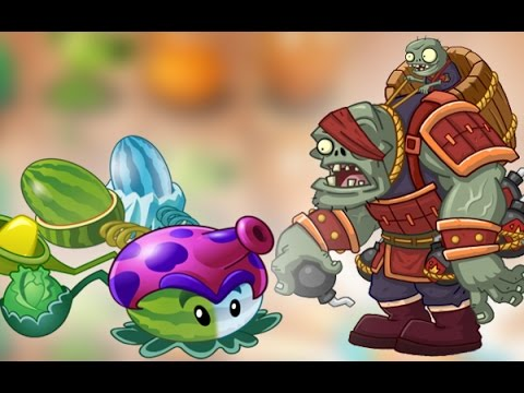 Plants Vs Zombies 2 Kung Fu World El Zombistein Mas Fuerte