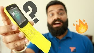 Nokia 8110 4G Unboxing & First Look - The Dumb 4G Phone 🔥🍌