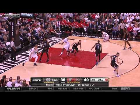 Blazers vs. Clippers game 6 highlights