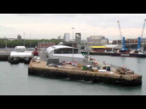 Port of Southampton, Southampton, England, United Kingdom, Europe