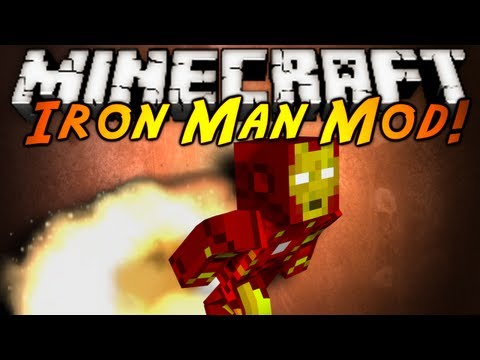 Minecraft Mod Showcase : IRON MAN!