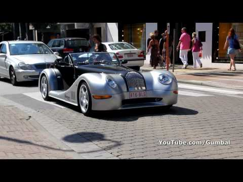 Morgan Aero 8 sound + drive by!! 1080p HD