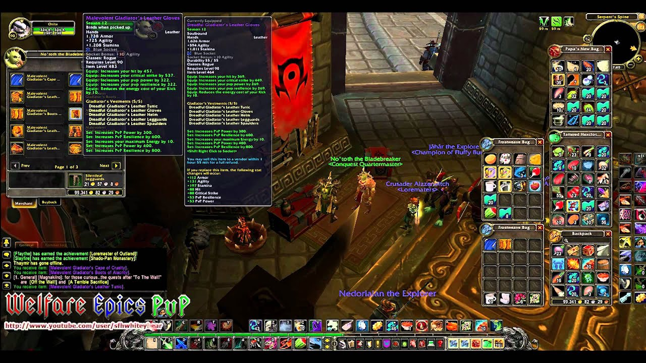 WoW MoP: New Horde PvP Vendor Location - YouTube