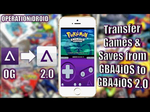 GBA4iOS 2.0: How to transfer games & saves to GBA4iOS 2.0 (WORKS ON 2.1)
