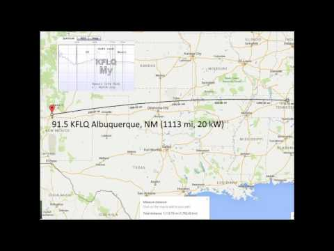 First notable E-Skip of the 2016 season in Tennessee. Although the signals were not strong or consistent, a handful of stations were logged from my location near Nashville, TN to New Mexico...