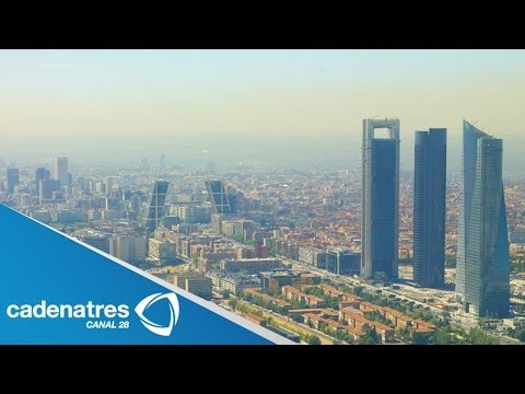 IMPRESIONANTES imágenes de la arquitectura de Dubai y Madrid