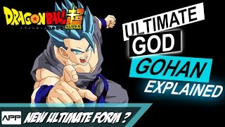 Ultimate Gohan GOD Form Explained - DBS 90