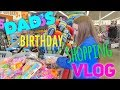 DADS BIRTHDAY SHOPPING VLOG + SQUISHIES AT FIVE BELOW | Bryleigh Anne