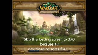 WgxTheWar - Pandashan-WoW Mists of Pandaria Private Server (5.0.5) Gameplay as Monk [HD]