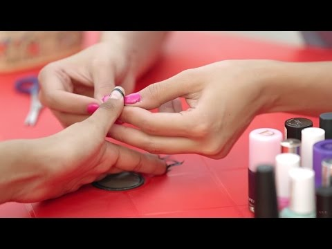 A Genius Trick To Get The Perfect French Manicure   Nail Art At Home   Glamrs