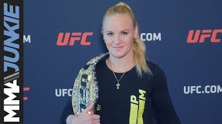 UFC media day at UFC Performance Institute: Valentina Shevchenko