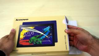Lenovo Tab 2 A10 Unboxing