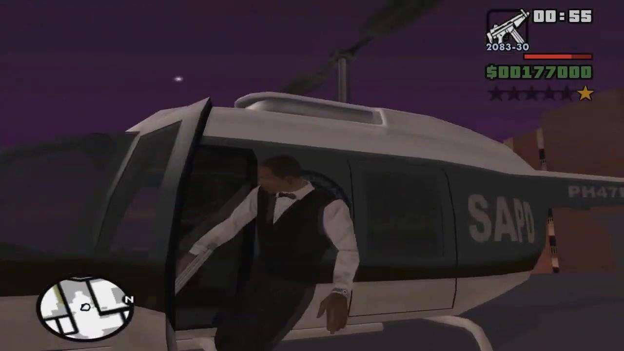 Gta san andreas casino heist parachute